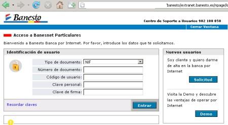 Varios intentos de phishing bancarios que afectan a caja for Caja madrid es oficina internet
